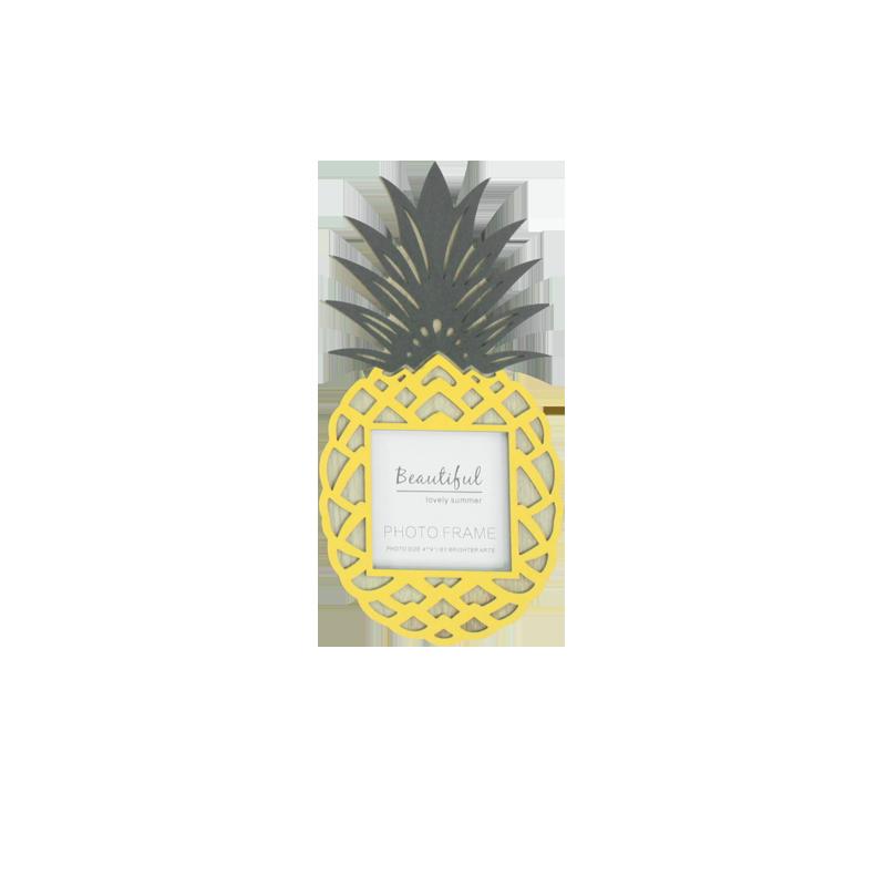 Cadre de photo d'ananas d'été décoration de la maison