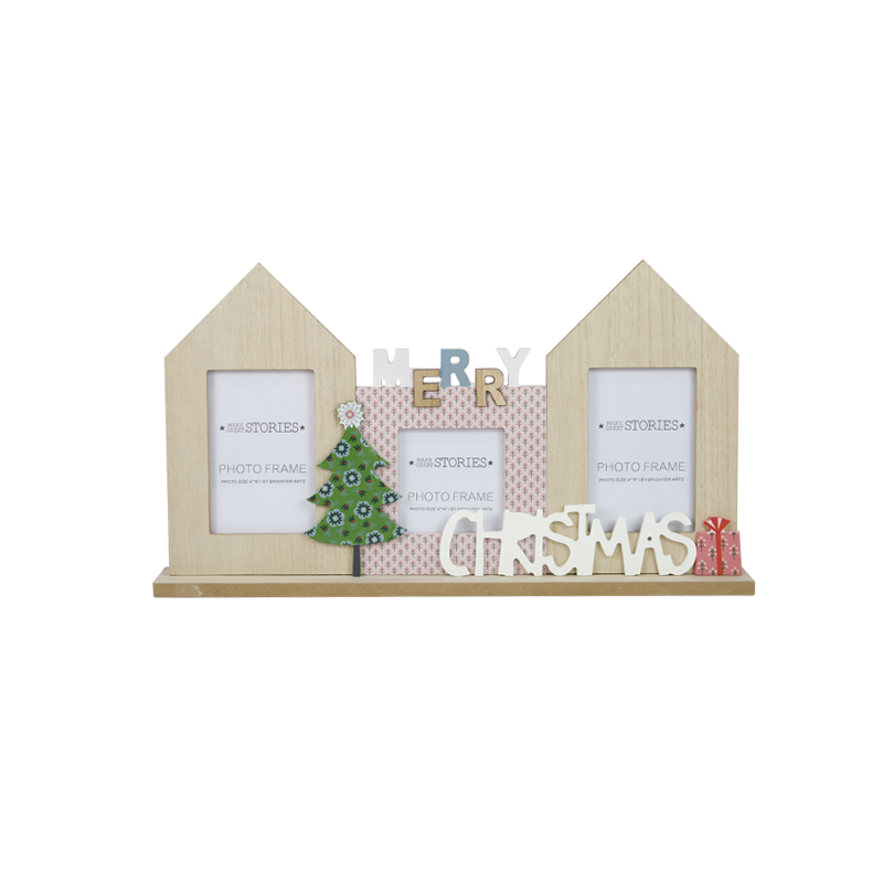 Décoration de la maison en bois Noël